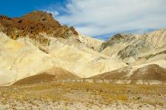 Berge und Wüste Colourfull Stockfotos