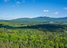 Berge von Adirondack Stockfotografie