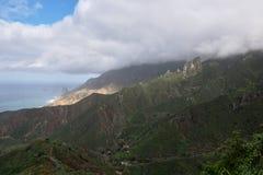 Berge von Anaga, Teneriffa stockfotos