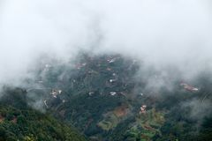 Berge von Anaga, Teneriffa stockbild