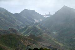 Berge von Anaga, Teneriffa stockfotografie