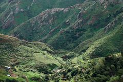 Berge von Anaga, Teneriffa lizenzfreies stockbild