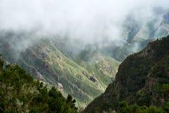 Berge von Anaga, Teneriffa stockbilder