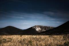 Berge von Astypalea Stockfotografie