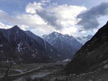 Berge von Balkaria Stockbild