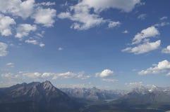 Berge von Banff Lizenzfreie Stockfotos