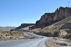 Berge von Bolivien stockfoto