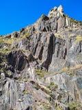 Berge von Georgia lizenzfreies stockbild