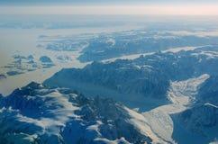 Berge von Grönland Lizenzfreie Stockbilder