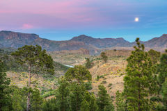 Berge von Insel Gran Canaria Lizenzfreies Stockfoto