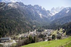 Berge von Italien Stockfoto
