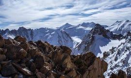 Berge von Kasachstan Höchstjugend Lizenzfreies Stockfoto