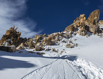 Berge von Kasachstan Höchstjugend Lizenzfreie Stockfotos