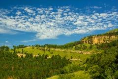 Berge von Kaukasus stockfotos