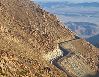 Berge von La Rumorosa lizenzfreies stockbild
