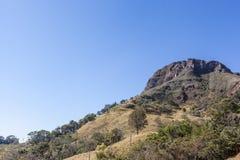 Berge von Minas Gerais State - Brasilien Lizenzfreie Stockfotos