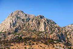 Berge von Montenegro Lizenzfreies Stockbild