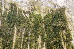 Berge von Murren Lizenzfreies Stockfoto