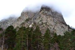 Berge von Nord-Ossetien stockbild