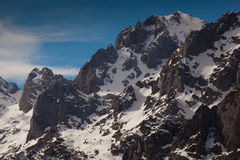 Berge von Picos de Europa Stockfotos