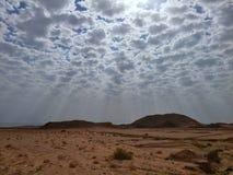 Berge von Ras Mohamed Resort, Sinai, Ägypten Lizenzfreies Stockfoto