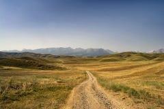 Berge von Süd-Kirgisistan Stockfoto