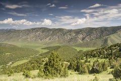 Berge von Süd-Kirgisistan Lizenzfreie Stockbilder