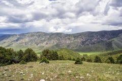 Berge von Süd-Kirgisistan Stockbild