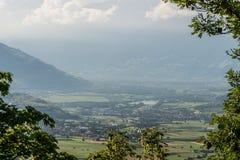 Berge von Süd-Tirol Stockfoto