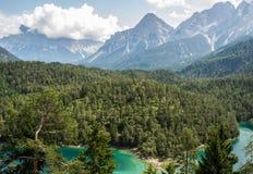 Berge von Süd-Tirol Stockbild