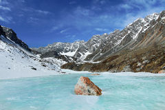 Berge von Sibirien Stockfotografie