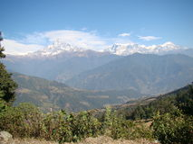 Berge von weit Lizenzfreie Stockfotografie