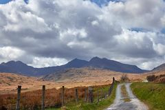 Berge in Wales stockfoto