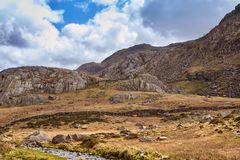 Berge in Wales stockfotografie