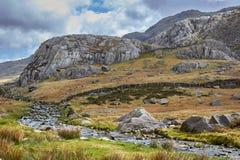Berge in Wales lizenzfreies stockbild