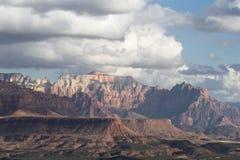 Berge in Zion NP, Utah Stockfotografie