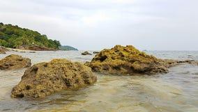 Bergeam Bundelauf Koh Lanta - Thailand Worldtrip stock foto