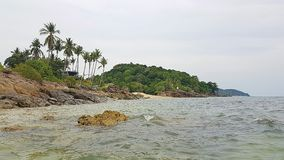 Bergeam Bundelauf Koh Lanta - Thailand Worldtrip stock foto's