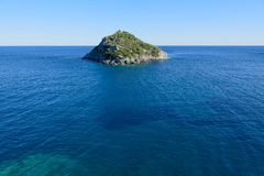 Bergeggi海岛-萨沃纳-意大利 库存图片