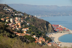 Bergeggi, Italian Riviera stock photography