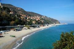 Bergeggi, Riviera italiana Foto de archivo libre de regalías