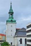 bergen Норвегия церковь новая Стоковые Изображения