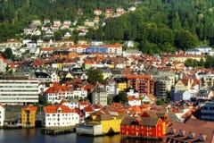 bergen Норвегия стоковые изображения rf