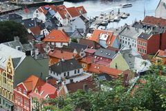 Bergen Royalty Free Stock Photography