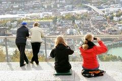 Bergen Stockfoto