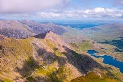 Bergen 2 van Snowdonia Stock Foto