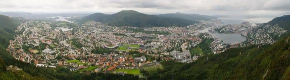 Bergen Imagen de archivo libre de regalías