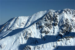 Bergen 3 van Tatra royalty-vrije stock foto