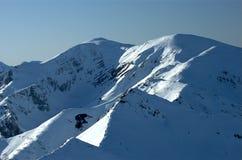 Bergen 8 van Tatra Stock Foto's