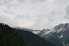 Bergen in Abchazië stock afbeelding